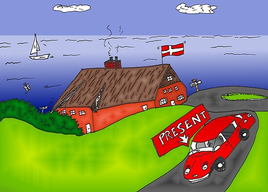 Binary Options News Cartoon Danish Real Estate by Binary-Options