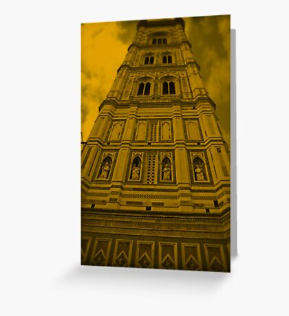 Florence building Greeting Card