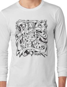 Tangled Girl Long Sleeve T-Shirt