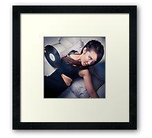 DJ Leonnie D Framed Print