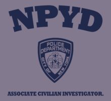 NPYD- Associate Civilian Investigator (Blue) by Stixanimated