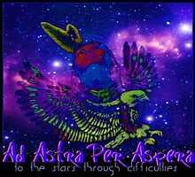 Ad Astra Per Aspera ~ To The Stars Through Difficulties by Vince Scaglione