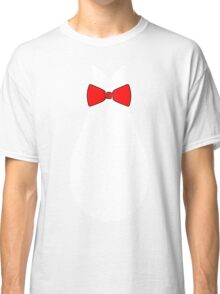 Penguin Style Fake Bow Tie T-shirt Classic T-Shirt