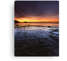 """Tessellated Pavement"" ∞ Eaglehawk Neck, Tasmania - Australia Canvas Print"