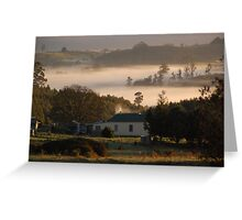 Morning Dew North Facing Greeting Card