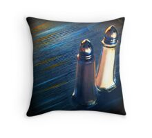temporary displacement Throw Pillow