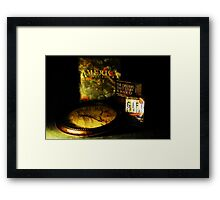 Time Is Gold Framed Print
