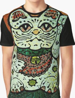 'Shiny Lucky Cat #3' Graphic T-Shirt