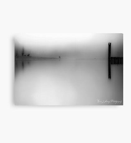 Kilby en Noir Canvas Print