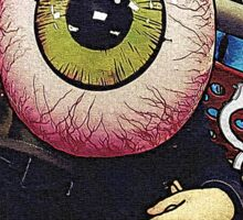 The Eyeball Kid: Comic Cover Sticker