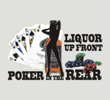 Linguor up front poker in the rear by personalized