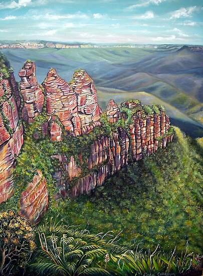 On the Edge, Blue Mountains, Australia by © Linda Callaghan