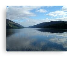Loch Oich Scotland Canvas Print