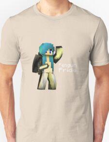 Penguin Pride ^-^ (white text) Unisex T-Shirt