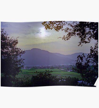 Sunset in Gyeongju Poster