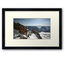 Zugspitze Framed Print