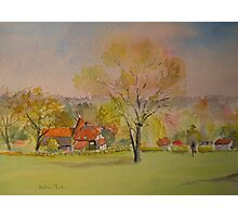 The weald of Kent Photographic Print