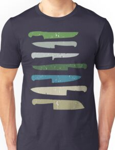 Chef's knives Unisex T-Shirt