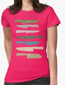 Chef's knives Womens Fitted T-Shirt