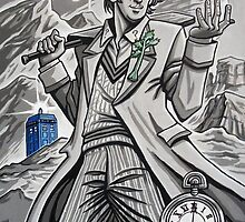 The Fifth Doctor  by Raine  Szramski