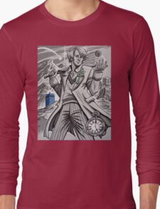 The Fifth Doctor  Long Sleeve T-Shirt