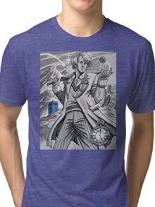 The Fifth Doctor  Tri-blend T-Shirt