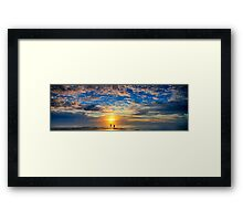 Beneath the Morning Framed Print