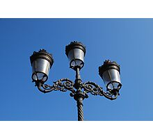 Lamps in Dublin Photographic Print