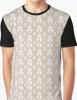 Fox Skull Pattern Graphic T-Shirt