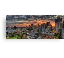 Sydney Sunset Canvas Print