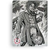 Time War Eighth Doctor Canvas Print