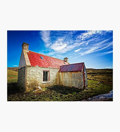 The Old Croft House Photographic Print