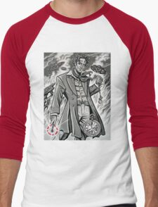 Time War Eighth Doctor Men's Baseball ¾ T-Shirt