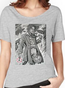 Time War Eighth Doctor Women's Relaxed Fit T-Shirt