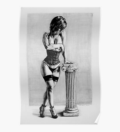 corset and pillar  Poster