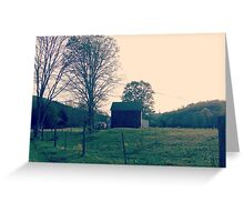 Giles County Barn Greeting Card