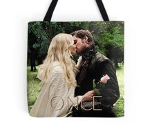 Captain Swan Camelot Garden Digital Watercolor Design 1 Tote Bag