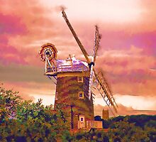Cley Windmill Norfolk by Chris Thaxter