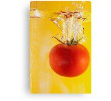 Aquatic Tomato Canvas Print