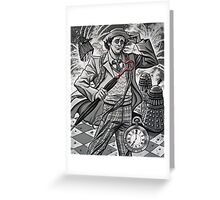 The Seventh Doctor Greeting Card