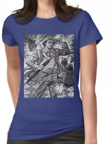 The Seventh Doctor Womens Fitted T-Shirt