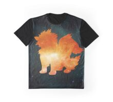 Galaxy Arcanine Graphic T-Shirt