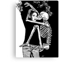 Death and the Maiden Modern Ed 3 Canvas Print