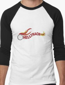 Hell Track Logo From the 80's Movie Rad  Men's Baseball ¾ T-Shirt