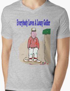 Lousy Golfers Mens V-Neck T-Shirt