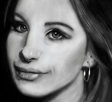 Barbra Streisand by stevencraigart
