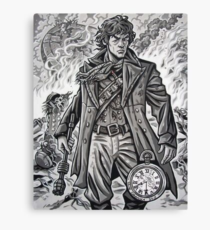 """Young War Doctor/ """"Doctor No More"""" Canvas Print"""