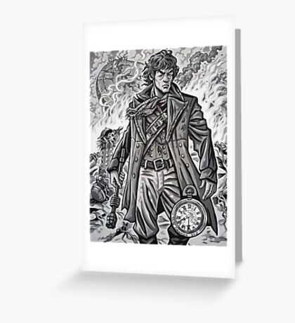 "Young War Doctor/ ""Doctor No More"" Greeting Card"