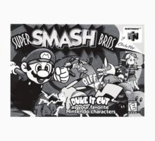 Super Smash Bros Box Art by kirbyman92675