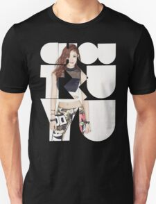 TWICE 'Chou Tzuyu' Typography T-Shirt